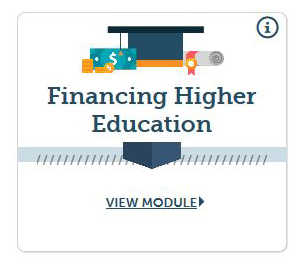 Financing Higher Education Course Icon