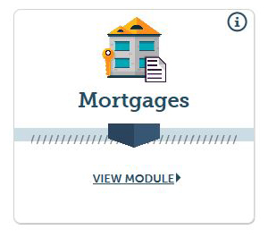 Mortgages Educational Module Icon