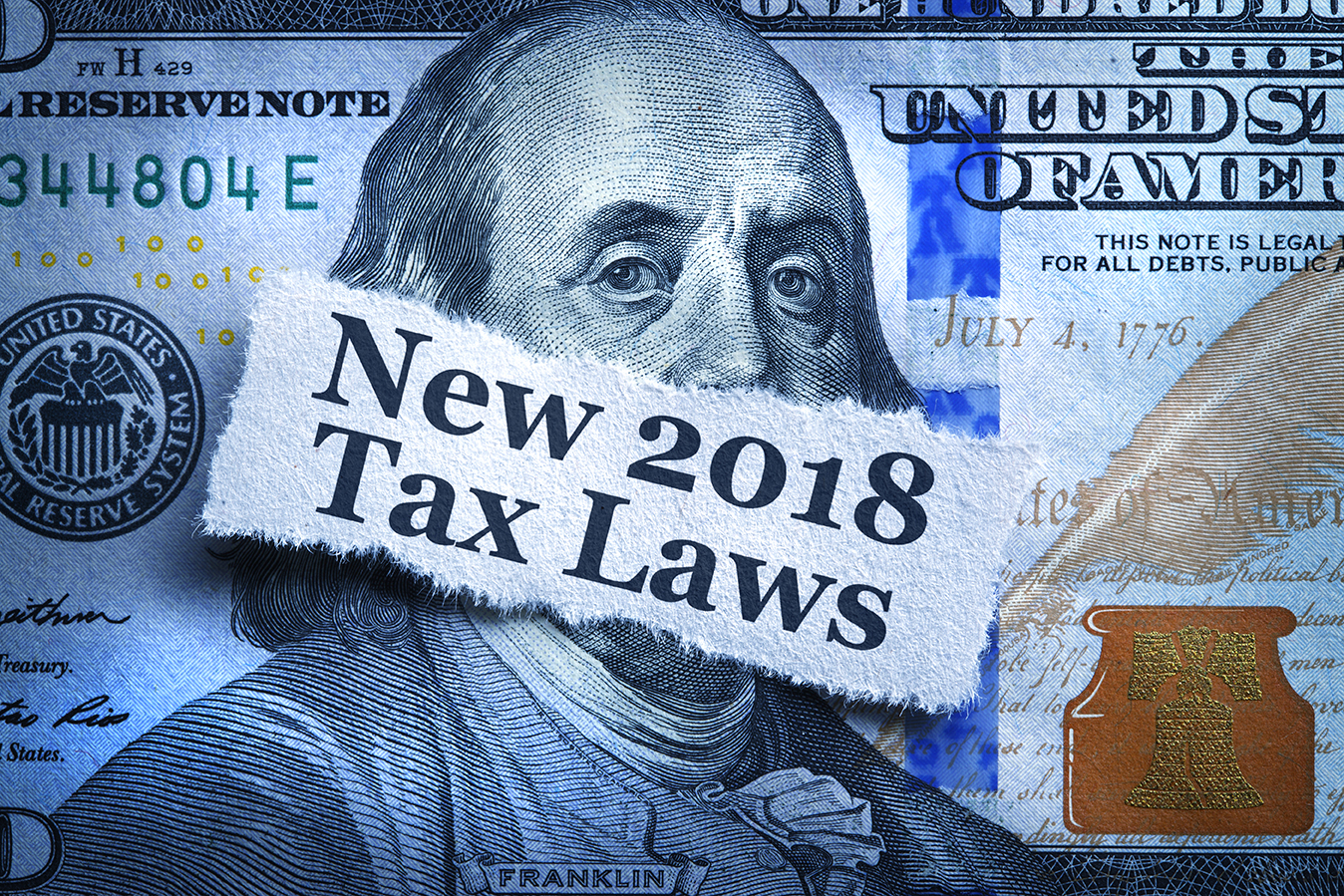 2018 Tax Laws Header Graphic