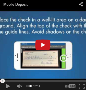 Image of the Mobile Deposit YouTube Video