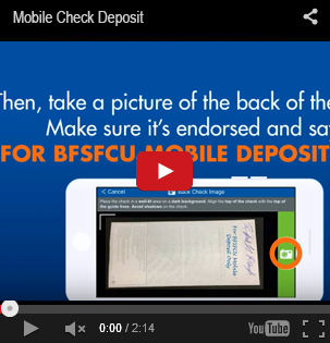Image of the Mobile Check Deposit YouTube Video